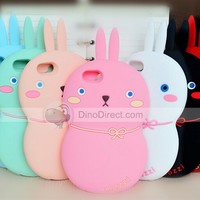 """3D Cute Gourd Rabbit carton silicone Case Cover For apple iphone 6 plus 5.5""""/ 6 4.7"""" - DinoDirect.com"""