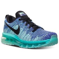 Nike Women's Flyknit Air Max Running Sneakers from Finish Line | macys.com