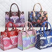 LV Louis Vuitton women's fashionable all-match handbag shoulder bag