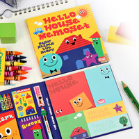 Chachap Hello house sticky memo note set