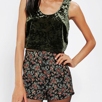 Urban Outfitters - Band Of Gypsies Crushed Velvet Tank Top