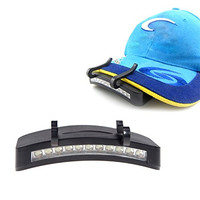 Fantastic Ball Cap Light with 11 Radiating Led Lights When You Need Hands Free Lighting This Is the Best and Brightest Hat Light in the Marketplace. Great for Camping, Fishing, Biking, Hiking and Household Repairs