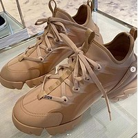 DIOR New fashion sports and leisure shoes women Khaki
