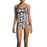 Arizona Pineapple Zippered Swim Top or Hipster Swim Bottoms or Swim Coverup - JCPenney