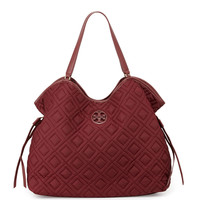 Quilted Slouchy Baby Bag - Tory Burch