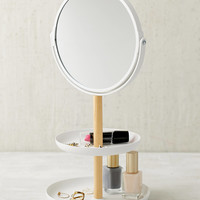 Tosca Tiered Catch-All Dish With Mirror | Urban Outfitters