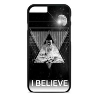 I Believe Astronout iPhone 4 Case Black