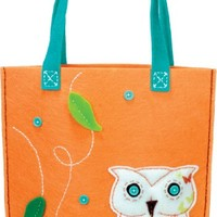 Dimensions Needlecrafts Feltworks Embroidery, Owl Tote