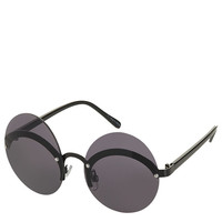 Extreme Oval Sunglasses - Sunglasses - Bags & Accessories - Topshop USA