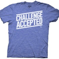 T-Shirt - How I Met Your Mother - Challenge Accepted (Slim Fit)