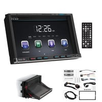 "Boss Audio 7"" Motorized Touchscreen Monitor Bluetooth DVD Player MP4-MP3 Compatible Receiver"
