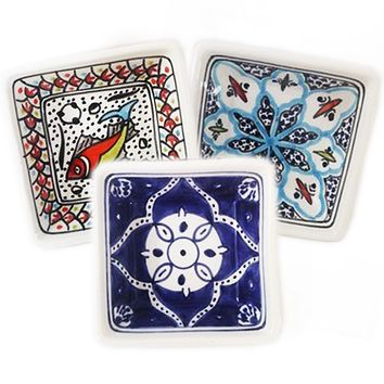 Square Dip Dishes - Set of 3