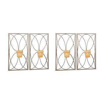 Capitol Candle Wall Sconce (Set of 4)