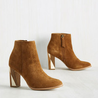 Inlay of the Land Bootie | Mod Retro Vintage Boots | ModCloth.com