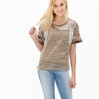 Gimmicks By BKE Sequin Sweater