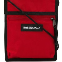Red Crossbody Pouch by Balenciaga