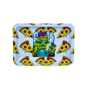 Pizza Turtles Metal Rolling Tray