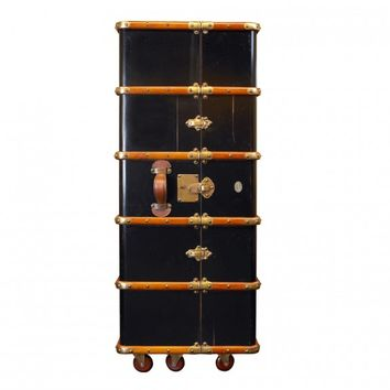 Authentic Models Stateroom Armoire - Black