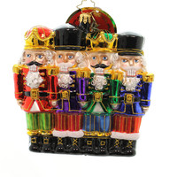 Christopher Radko ALL IN A ROW 1017871 Nutcrackers Christmas