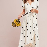 Breanna Polka Dot Wrap Dress