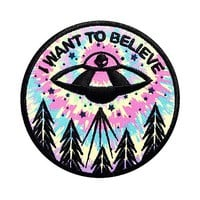 Loungefly I Want To Believe Iron-On Patch