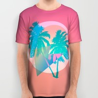 MIAMI All Over Print Shirt by DIVIDUS