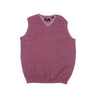 Argyle Culture Mens Cable Knit V-Neck Sweater Vest
