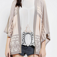 Urban Outfitters - Gentle Fawn Poncho Sweater