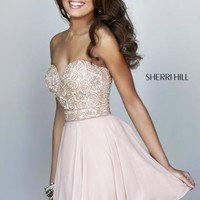 Sherri Hill Short Dress 8548 at Prom Dress Shop