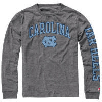 UNC Student Stores - League Collegiate Wear Victory Falls Long Sleeve Tee - Heather