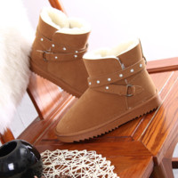 Winter new women 's boots snow boots
