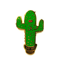 Do Not Touch Enamel Lapel Pin- only 25 available