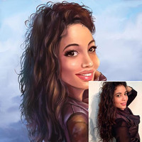 Digitally Illustrated Caricature - Personalised Gift - Caricature From Your Photo's - Digitally Delivered