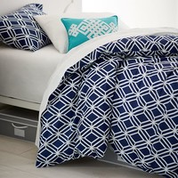 Diamond Geo Duvet Cover + Sham