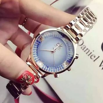 """CK"" Women Fashion Luxury Quartz Watch Casual Wristwatch"