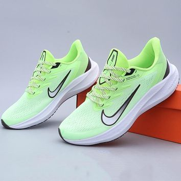 Hipgirls  Nike Zoom WINFLO 7 braided breathable comfortable foot casual casual running shoes