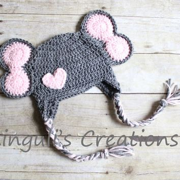 Crochet Baby Elephant Hat & Diaper Cover, You Pick Size and color ... | 354x354