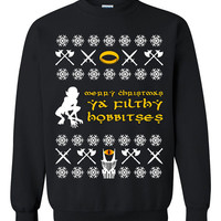 The Hobbit Ugly Christmas Sweater sweatshirt unisex adults size S-2XL