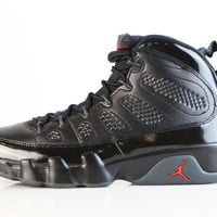 BC SPBEST Nike Air Jordan Retro 9 Bred Black Anthracite University Red 302370-014 Adult and GS (NO Codes)