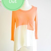 The Impeccable Pig - Summer Sweater- Coral