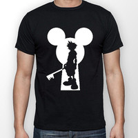 Kingdom Hearts Keyblade and Lock Sora Videogame Unisex Tshirt