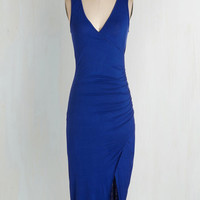 Short Length Sleeveless Bodycon Take Sides Dress by ModCloth