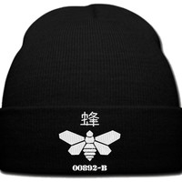 BEE BARREL beanie knit hat