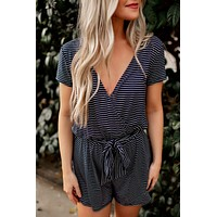 Z Supply Striped Romper