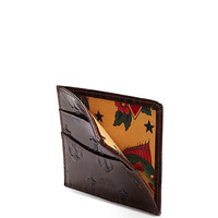 Embossed Anchor Bill Flap Wallet - JackSpade