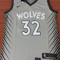 Minnesota Timberwolves #32 Karl-Anthony Towns City Edition Jersey