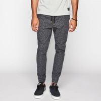 Ezekiel Tiki Mens Jogger Pants Black  In Sizes