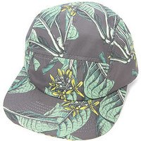 Altru Cap Painted Palms in Black