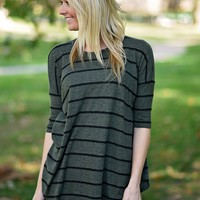Striped to Perfection ~Olive