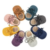 Newborn Baby Soft Nu-buck Leather Pre-walker Shoes Footwear